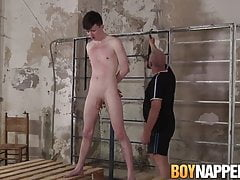 Twink Alex Knight rough BDSM domination by Sebastian Kane