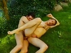 Boys Fucking at Garden