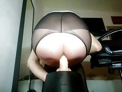 Danish Dildo Riding Sissy