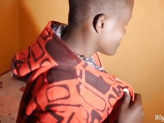 African Twink Jordan Jerking Off