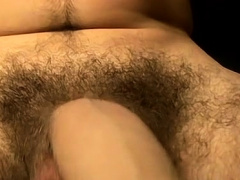 Twink strokes penis in full solo during nasty porn play