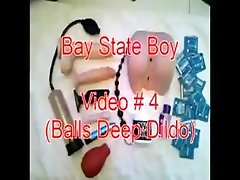 Teen Twink Balls Deep Dildo with Gapping Ass  [boybutt420]