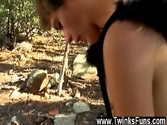 Gay cum in mouth teen young Sweet youthfull Benjamin is being