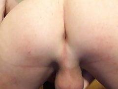 John Murphy rubs cock and cums