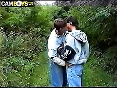 TWINKS IN THE WOOD