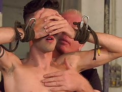 Master Sebastian Kane ties up twink for kinky domination