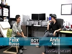 Best gay milking fetish porn muscle tranny vs  guy in porno Andy