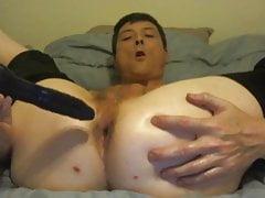 Sexy Logan Male Stripper Fucks Dildo Nice Ass