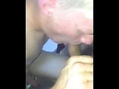 White Teen Blowing Me