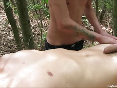 Two Gay Boys Hot Massage