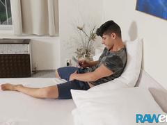 RAWEURO Rough Raw Breeding With A Latino Jock Bastian Karim
