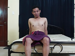 Gay Asian Foot Fetish Boy Carlo Tickled