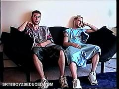 blowing two straight boys amateur