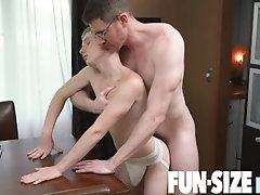 FunSizeBoys - Petite blond patient fucked hard by big-dicked doctor