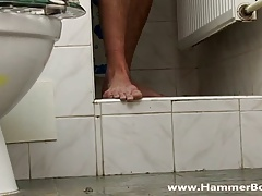 In shower - Rob Galo from Hammerboys TV
