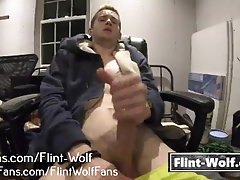 Flint Wolf Wank Video [Flint-Wolf.com]