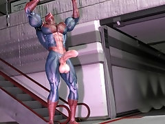 Spiderman Prime, Muscle Growth