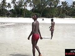 Nubian twunk barebacking tight asshole for jizz