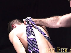 BoyForSale - Slim younger man is used and brutally fucked by burly master