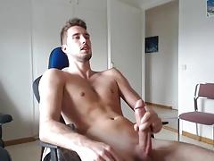 Big cock handjob