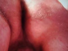 Masturbazione anale con sborrata