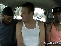 Interracial Bareback Hardcore Gay Porn Movie 14