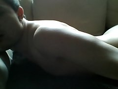 fucking sofa show in front of cam