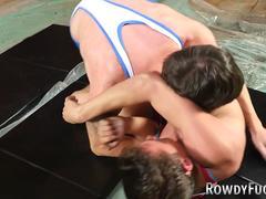 Wrestling jock rides