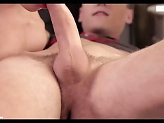 Czech twinks friends fucking bareback at home when parents go out!