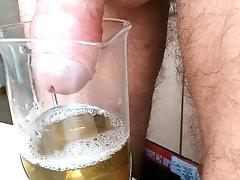 Kozzy pissing in a tea pot (Part 1, Part 2) HOT PISS