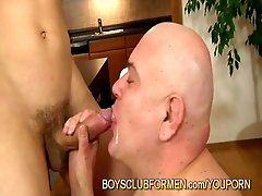 Very old man creamied young(18+) boyclick to edit