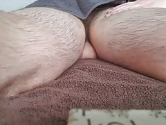 British Hairy Twink Receives first Erotic Massage with