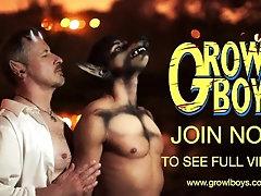 Growlboys - Suited hung red head fucks screaming cute virgin bareback