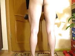 Naked squats