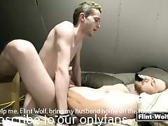 Daddy gets pounded by hot boy
