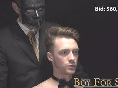 BoyForSale - Young twink pounded hard by daddy