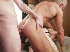 BoyforSale - Young slave used by multiple dom top men
