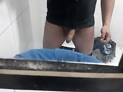 moving my penis at work