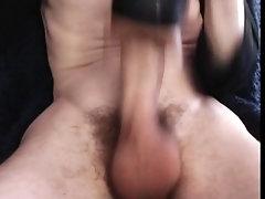 British lad cumming hard through fleshlight messy with sound