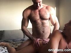 Muscle Alpha with Big Dick bareback fucks Latin twink boy bubble butt: Porfi