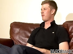 British dude Dylan B loves wanking his cock for our pleasure