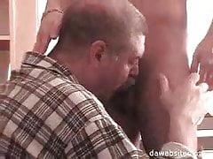 Twink Seducing Mustached dad 2