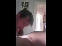 Daddy waking his son up with a blow job  💦