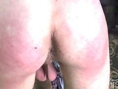Spanked Straight Friend's Ass Very Hard For Bad Behavior