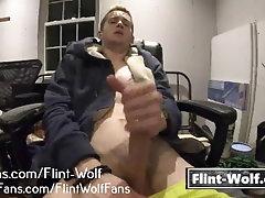 Flint Wolf Wank Video [Flint-Wolf.com]