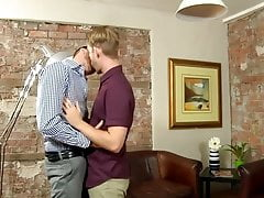Young intern has his ass pounded at work