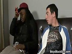 BlacksOnBoys - Nasty sexy boys fuck young white sexy gay guys 04