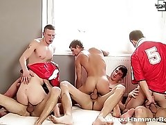 Goal orgy club II. from Hammerboys TV